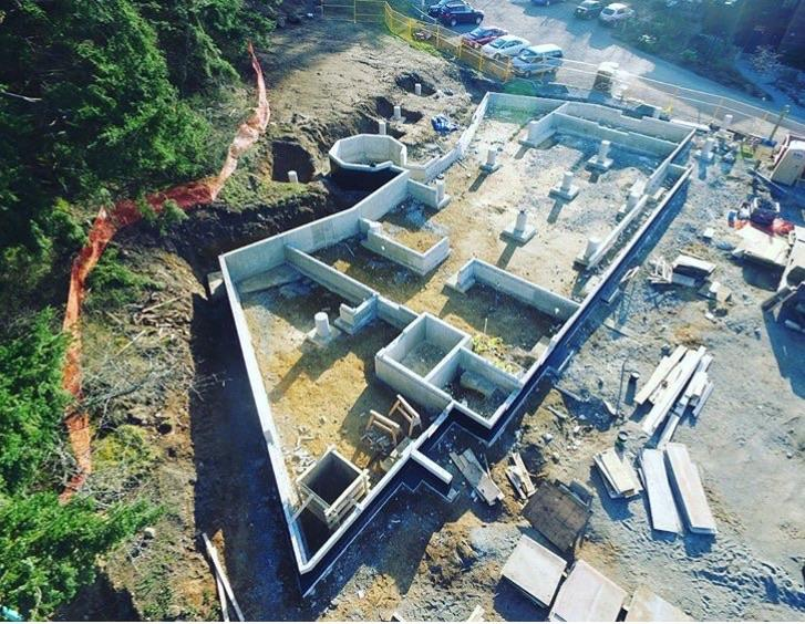 Aerial foundation
